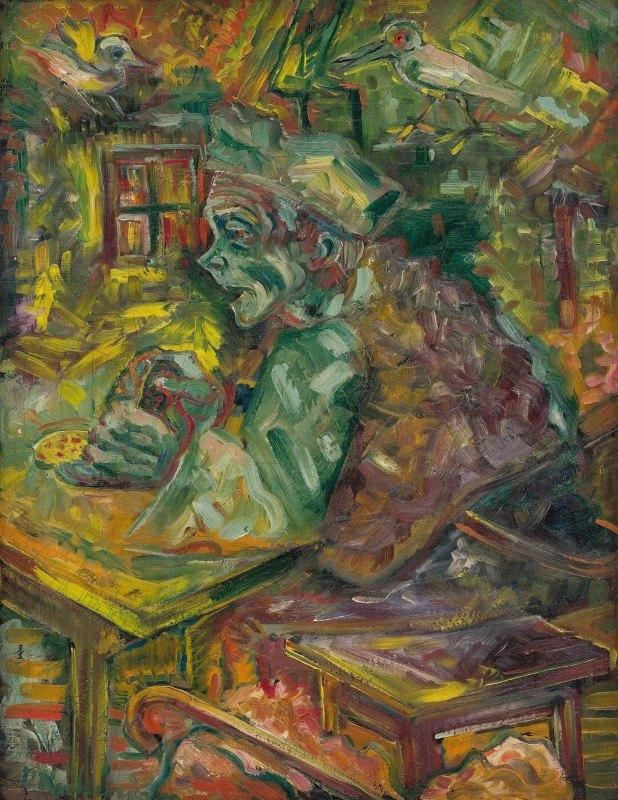 Arnold Peter Weisz-Kubínčan - At the Table