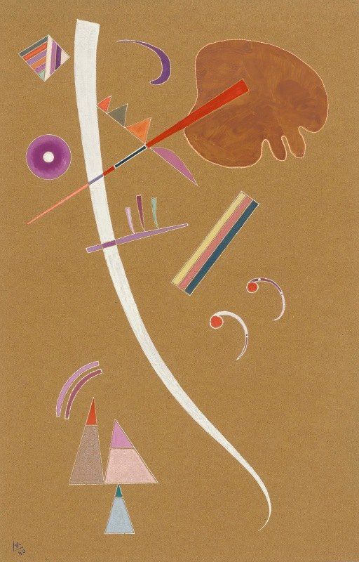 Wassily Kandinsky - Ohne Titel (Untitled)