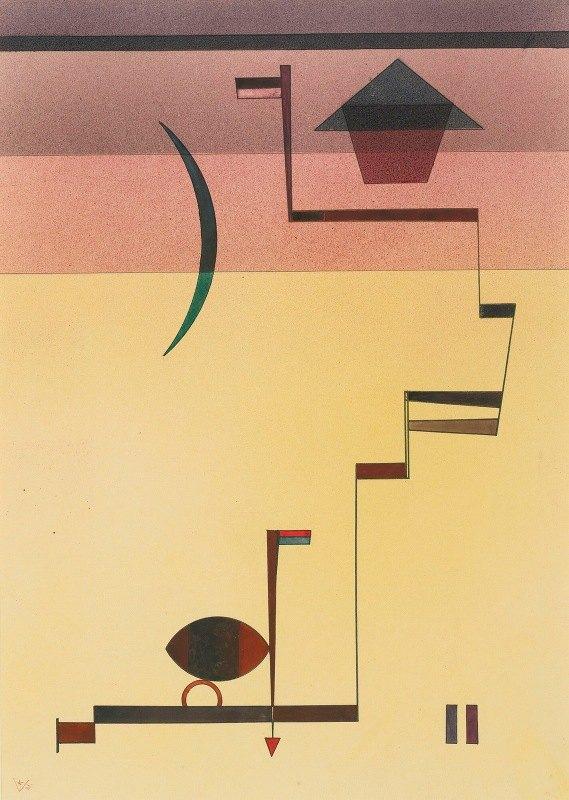 Wassily Kandinsky - Eckig (Angular)