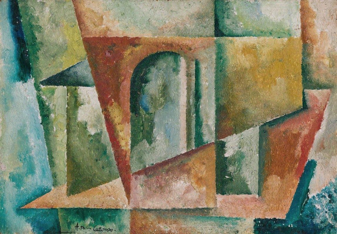 Amadeo de Souza-Cardoso - Paysage Cubiste
