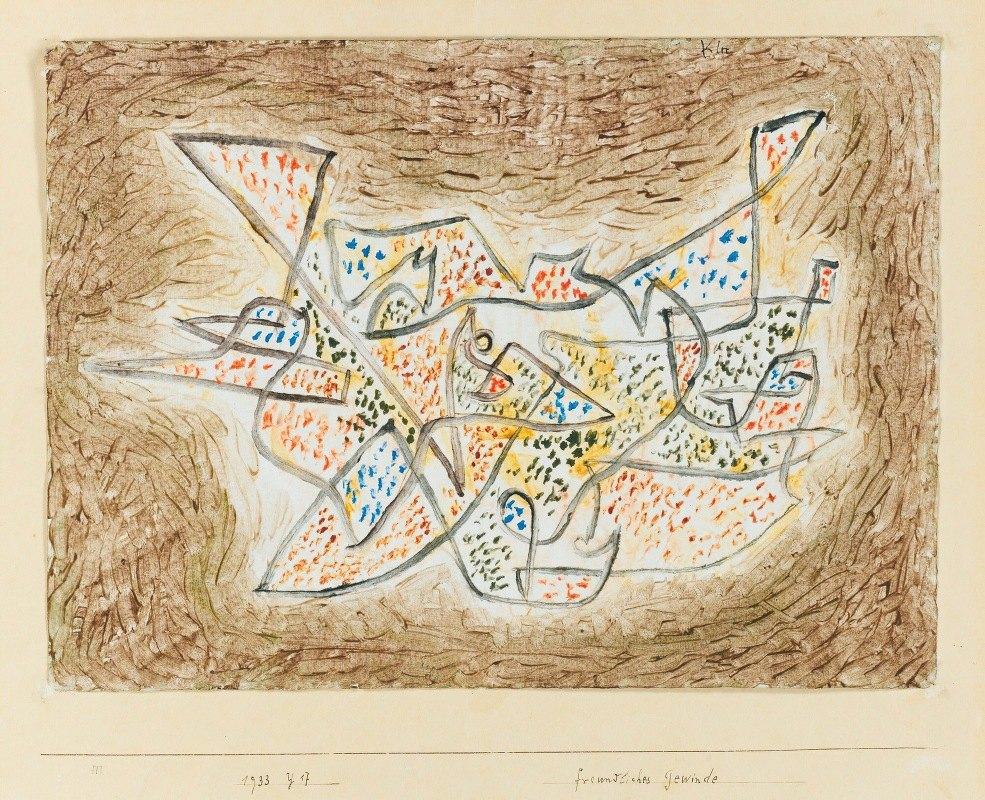 Paul Klee - Freundliches Gewinde (Friendly Meandering)