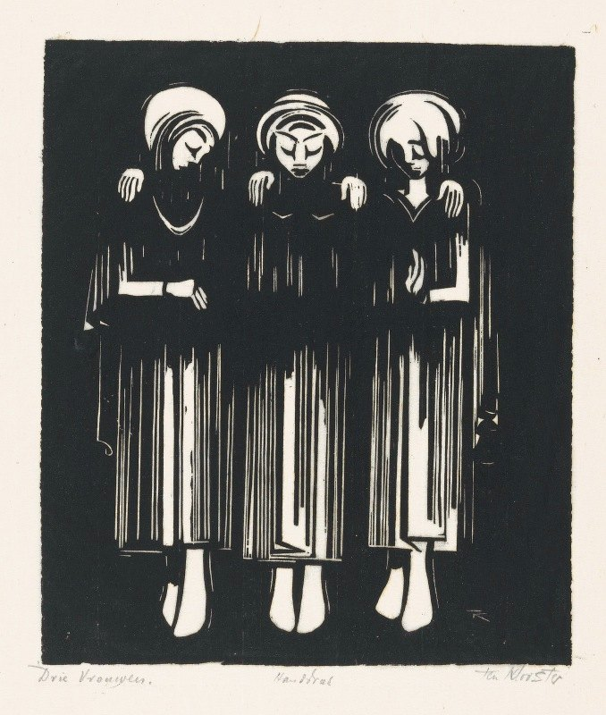 Johannes Frederik Engelbert ten Klooster - Drie vrouwen