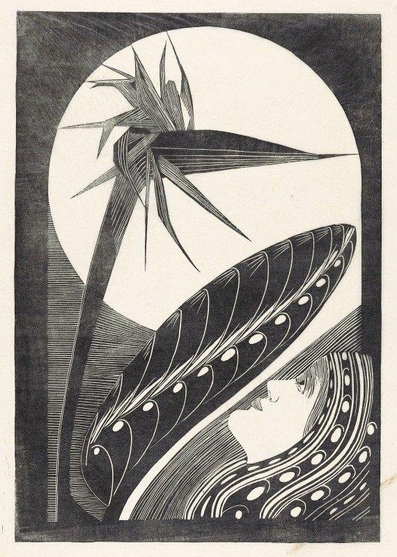 Samuel Jessurun de Mesquita - Uitgebloeide strelitzia