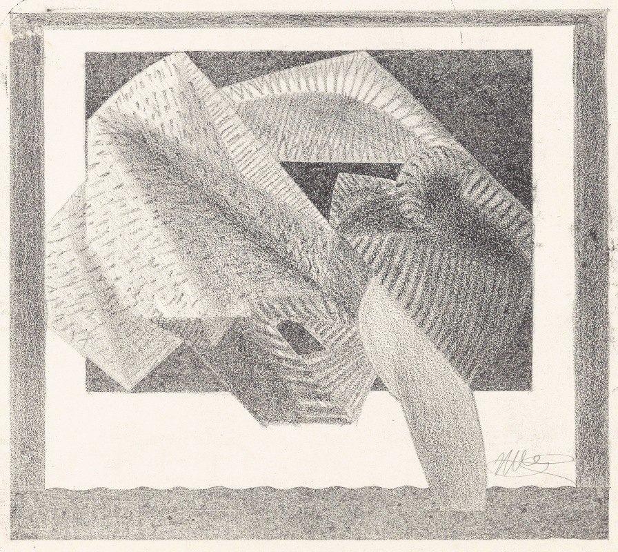 Samuel Jessurun de Mesquita - Geabstraheerde vogel