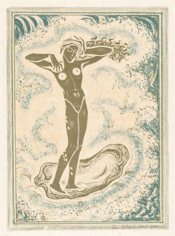 Richard Nicolaüs Roland Holst - Geboorte van Venus