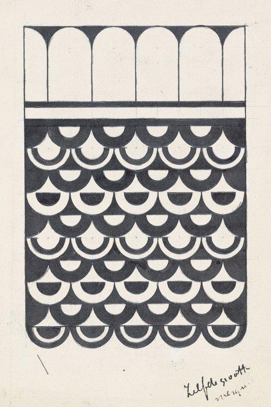 Samuel Jessurun de Mesquita - Ornament van schubben