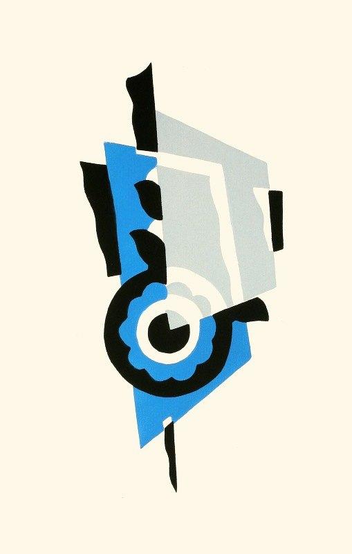 Serge Gladky - Fleurs, Texte Et Vingt-Six Planches En Couleurs Pl 01