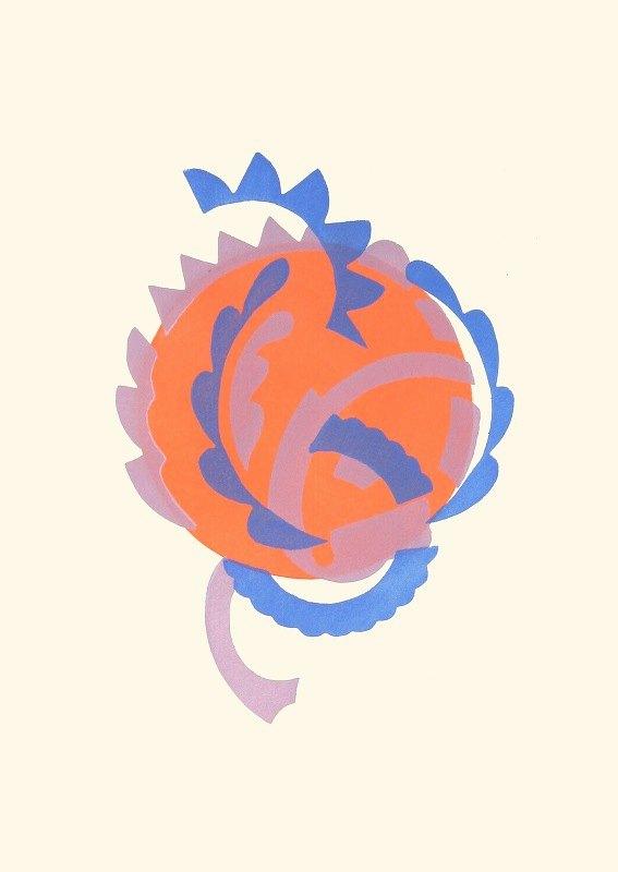 Serge Gladky - Fleurs, Texte Et Vingt-Six Planches En Couleurs Pl 07