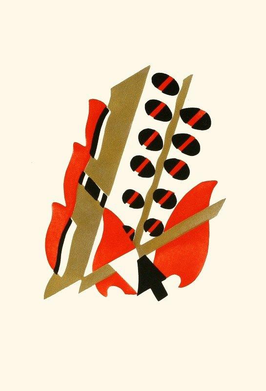 Serge Gladky - Fleurs, Texte Et Vingt-Six Planches En Couleurs Pl 17