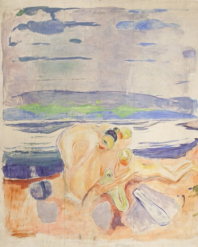 Edvard Munch - Alma Mater; Exploring Children