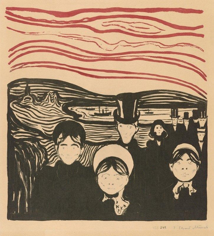 Edvard Munch - Angst