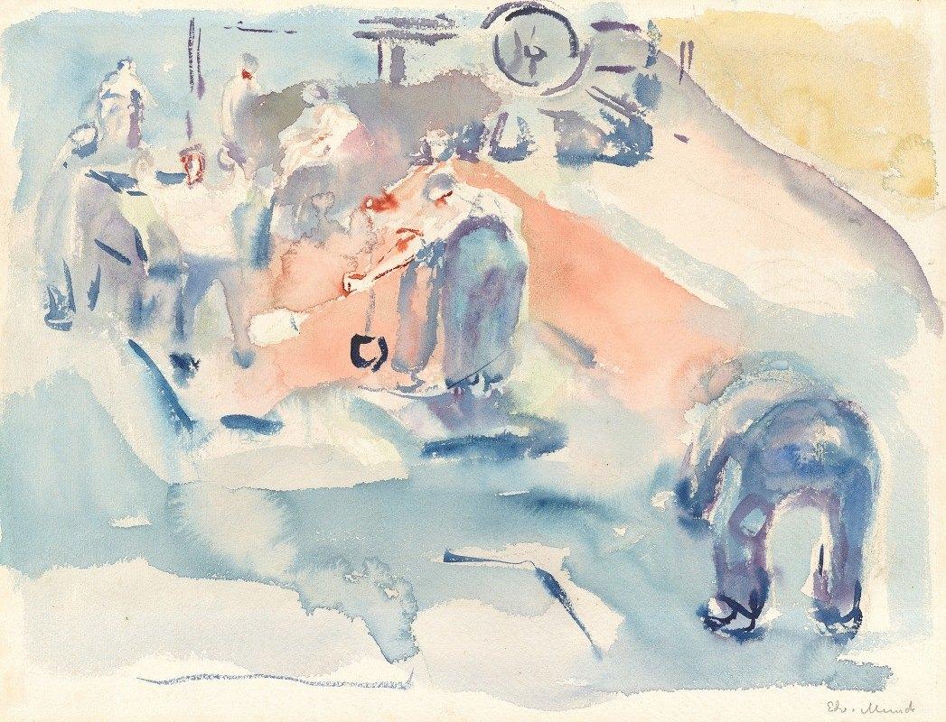 Edvard Munch - Bygningsarbeid