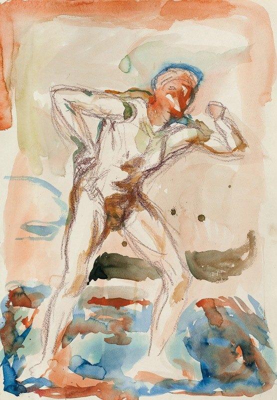 Edvard Munch - Stående akt