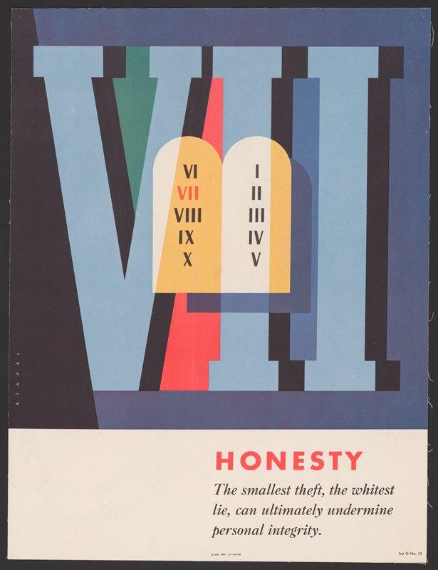 Joseph Binder - Honesty