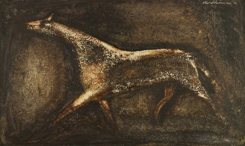 Olav Strømme - Horse in trot