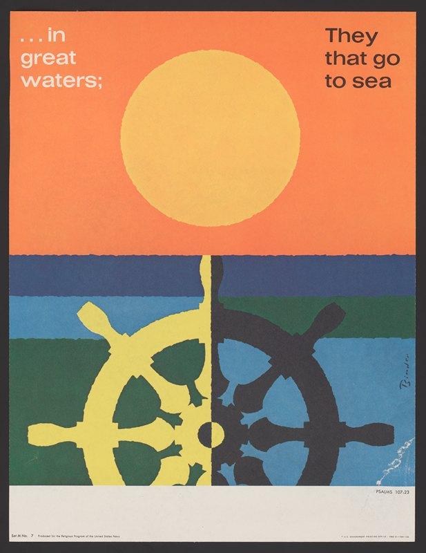 Joseph Binder - In great water; … Psalms 107:23