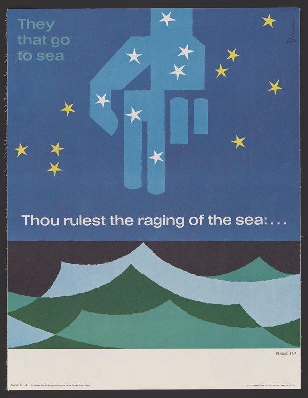 Joseph Binder - Thou rulest the raging of the sea … Psalms 89:9