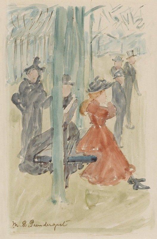 Maurice Prendergast - Park Scene