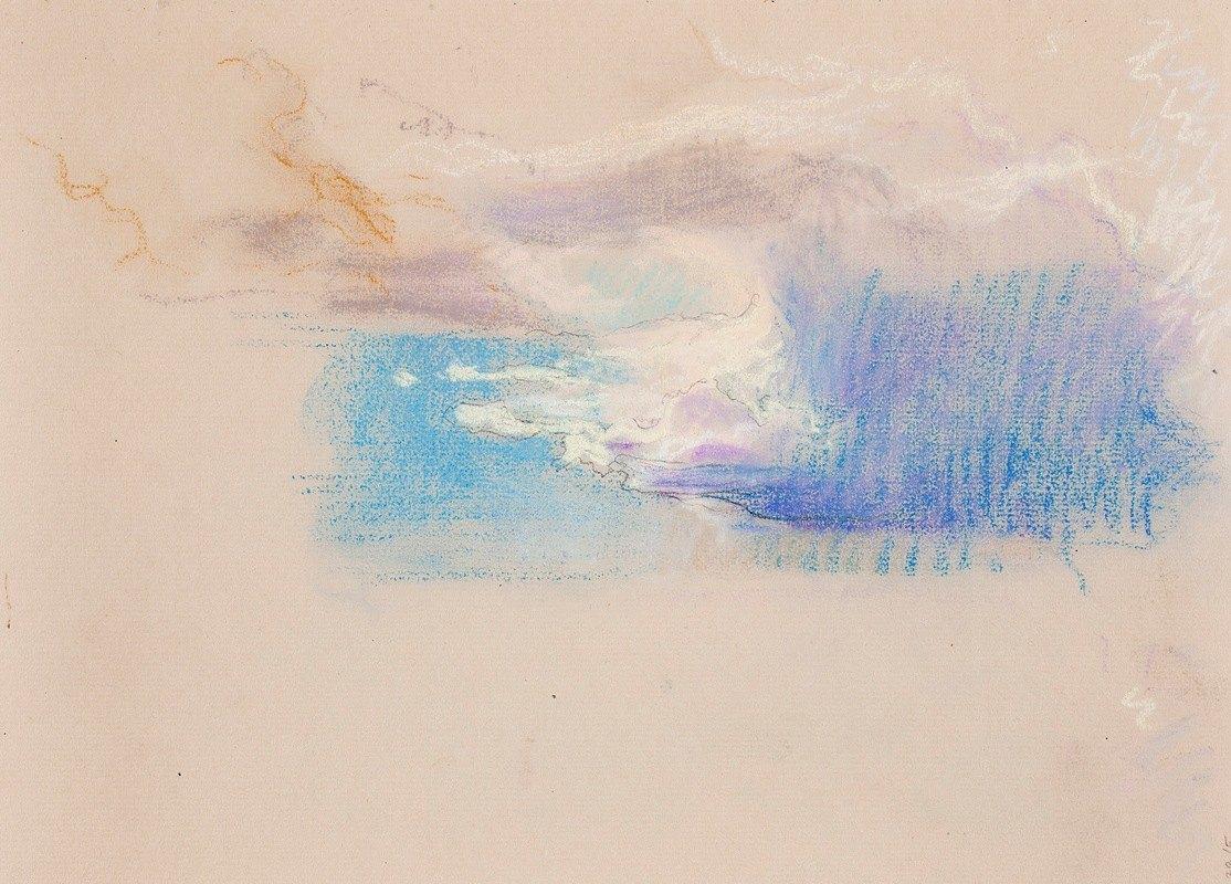 Eero Järnefelt - Pilvet 1900-luvun alusta