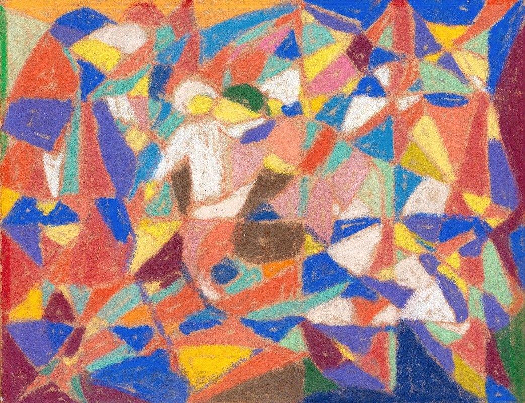 Adolf Hölzel - Figürliche Komposition