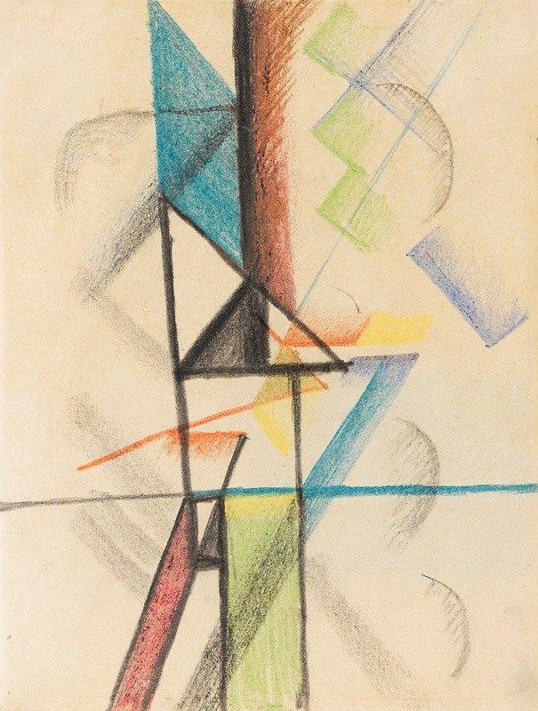 August Macke - Abstrakte Formen V