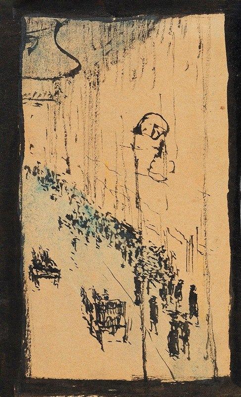 August Macke - Strasse in Paris