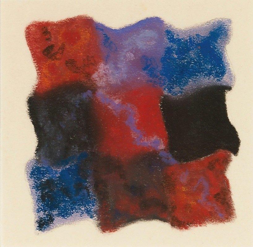 Augusto Giacometti - Abstraktion In Rot, Blau Und Violett