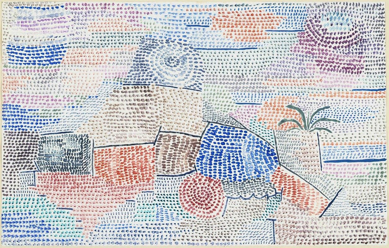 Paul Klee - Licht über Ehedem (Light over former times)