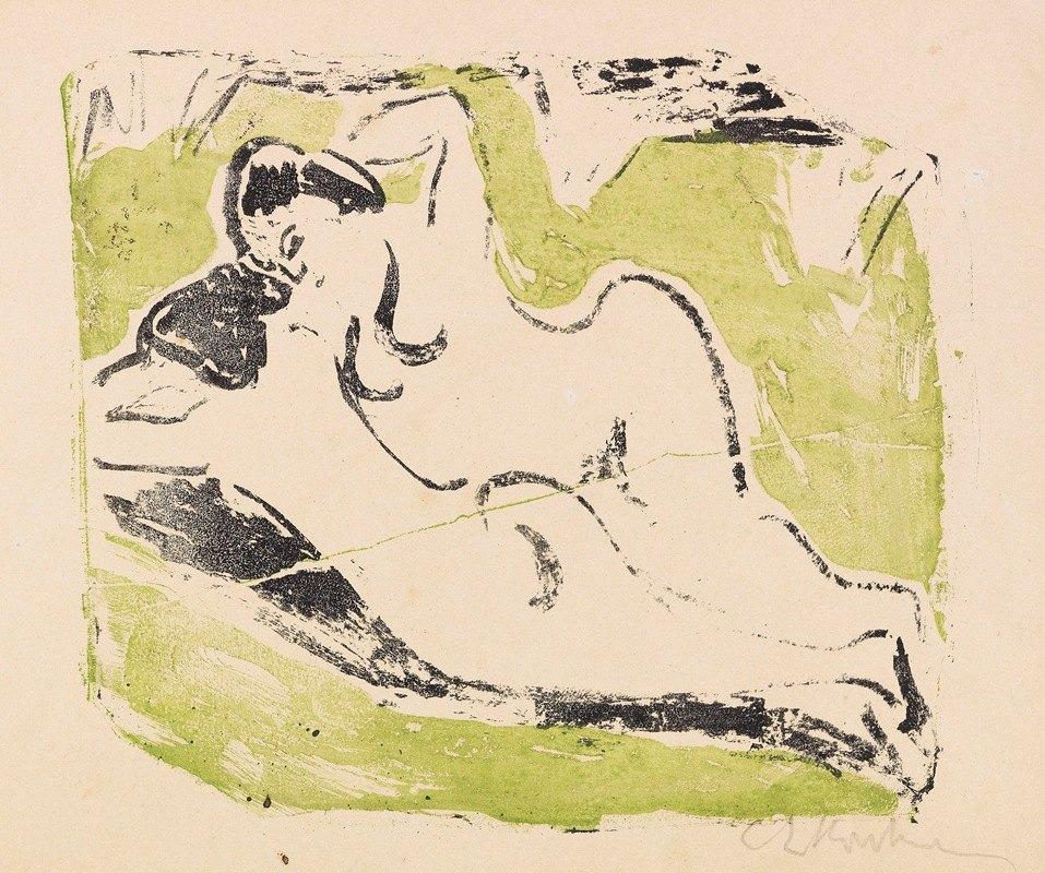 Ernst Ludwig Kirchner - Sich sonnende Badende