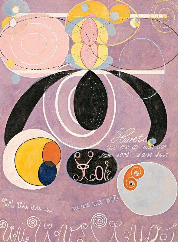 Hilma af Klint - The Ten Largest, No. 6