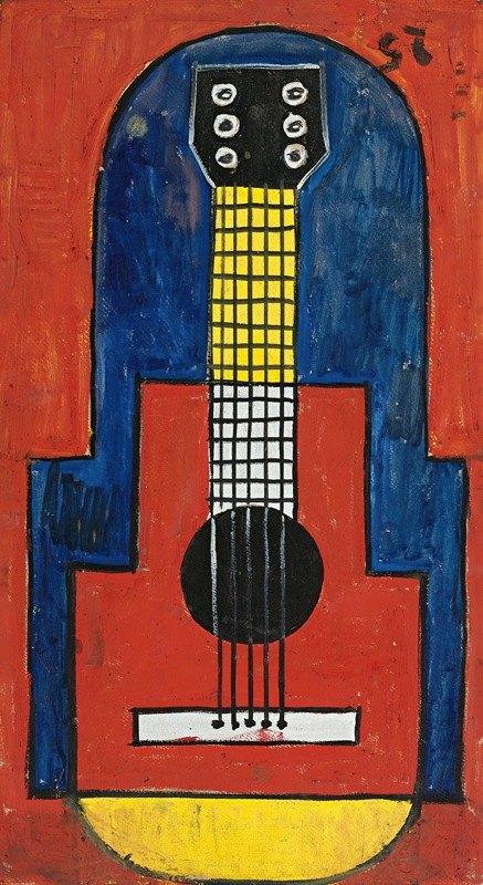 Joaquín Torres-García - La Guitarra