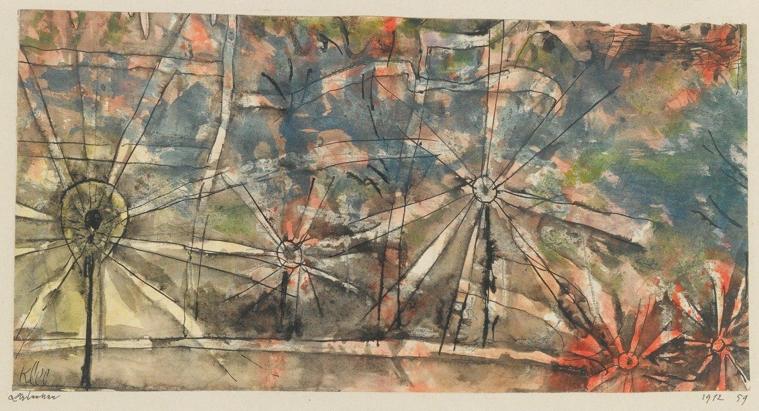 Paul Klee - Laternen (Street Lamps)
