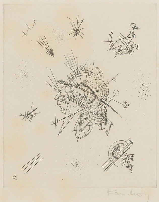 Wassily Kandinsky - Kleine Welten X (R. 173)