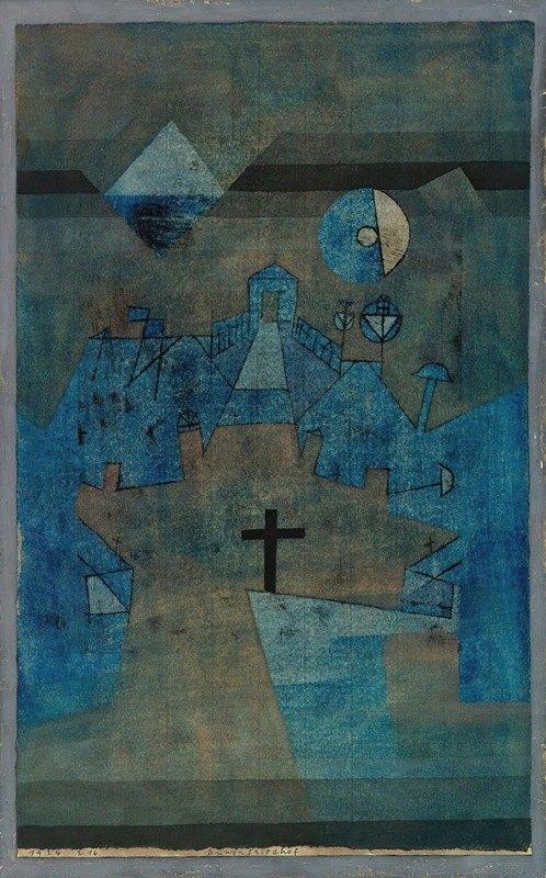 Paul Klee - Dünenfriedhof