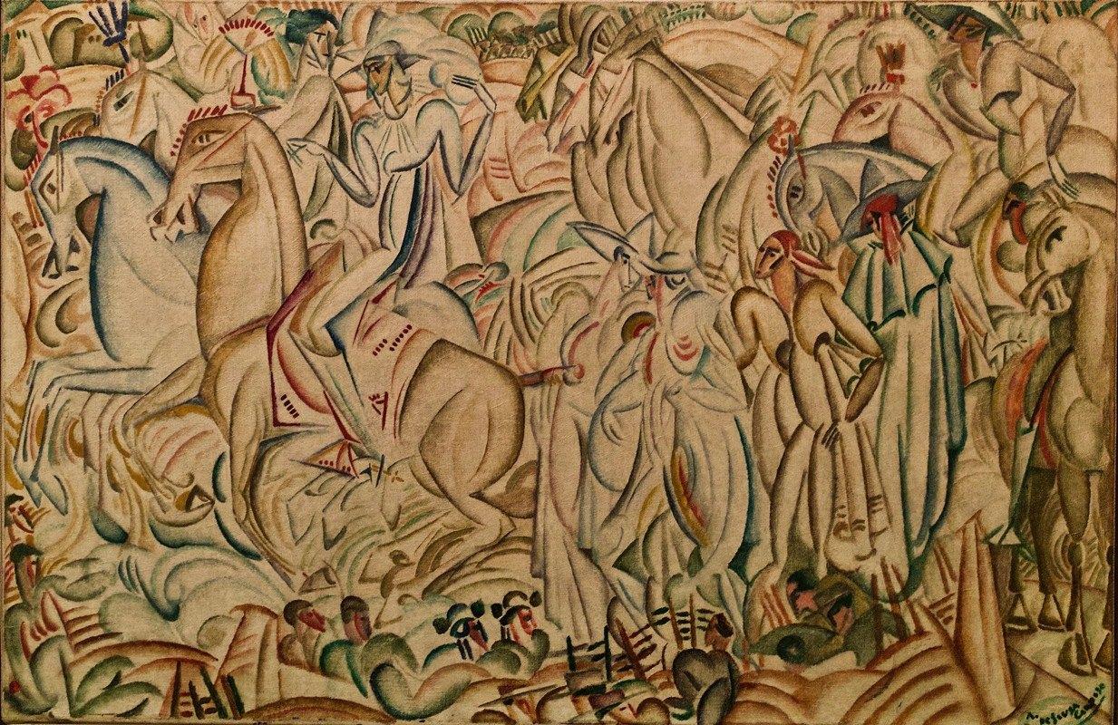 Amadeo de Souza-Cardoso - Before the Bullfight