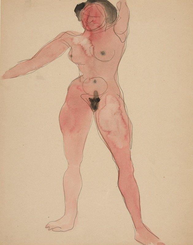 Charles Demuth - FemaleNude