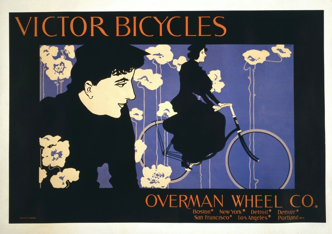 Will Bradley - Victor Bicycles Overman Wheel Co
