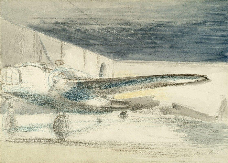 Paul Nash - Bomber Lair