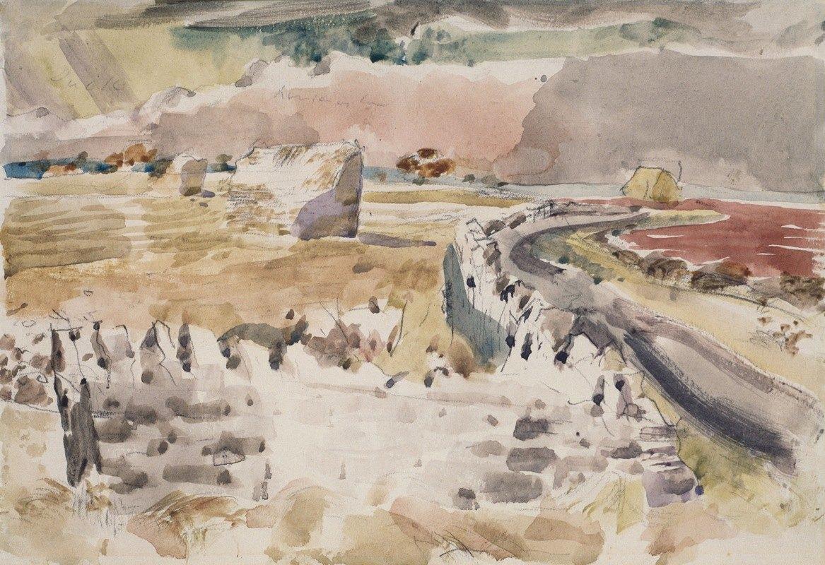 Paul Nash - Oxfordshire Landscape