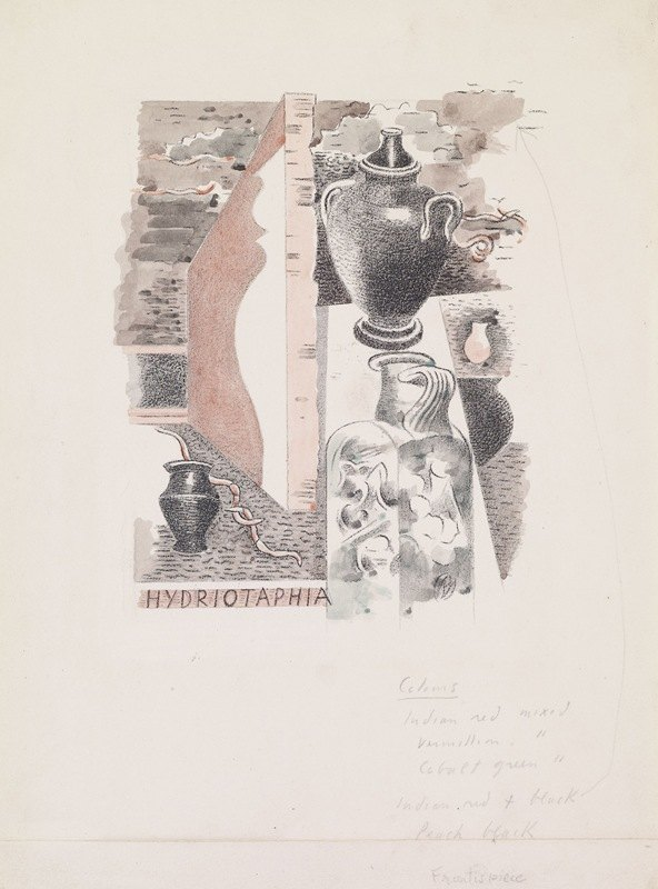 Paul Nash - Water Hath Proved the Smartest Grave