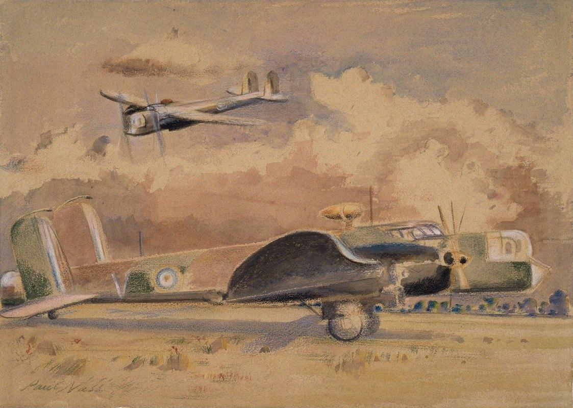 Paul Nash - Whitley Bombers Sunning