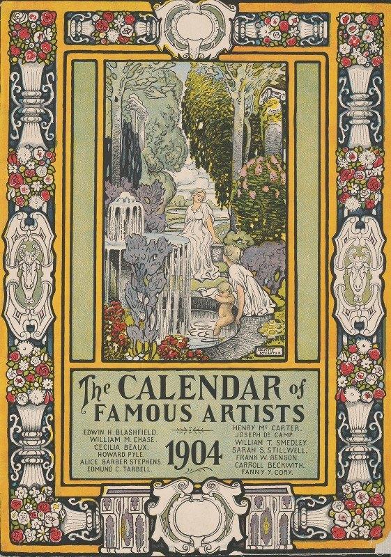 Henry McCarter - The calendar of famous artists