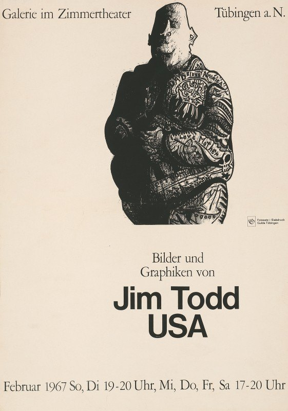 Jim Todd - Bilder und Graphiken von Jim Todd, U.S.A