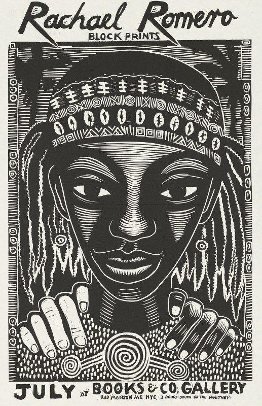 Rachael Romero - Block prints