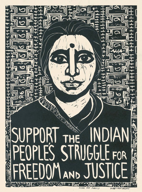 Rachael Romero - Support the Indian people's struggle for freedom and justice