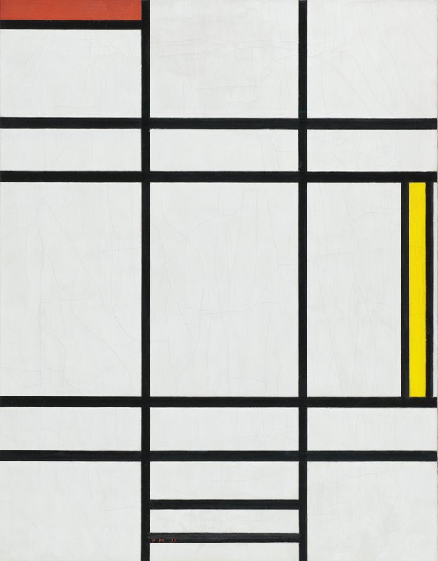 Piet Mondrian - Composition in White, Red, and Yellow