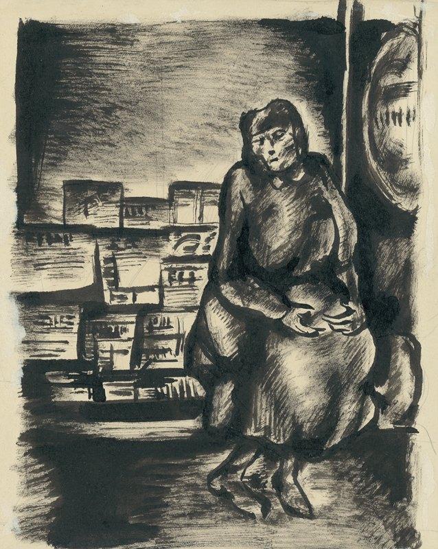 Konštantín Bauer - Žena na ulici