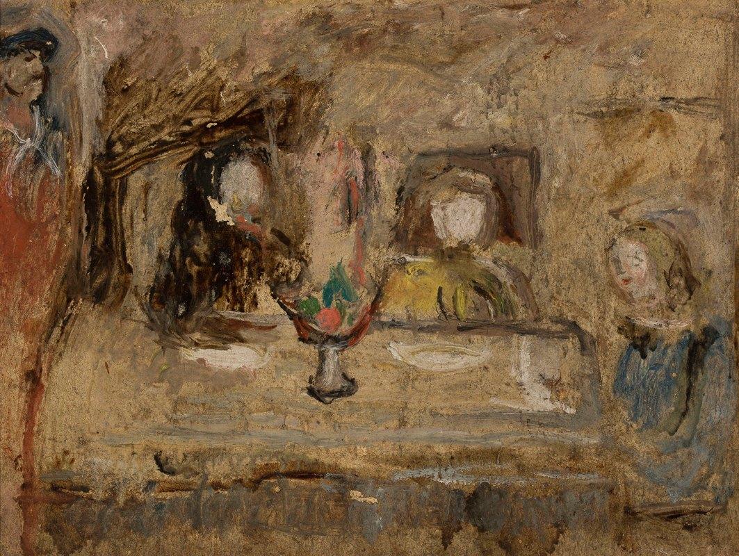Tadeusz Makowski - Przy stole