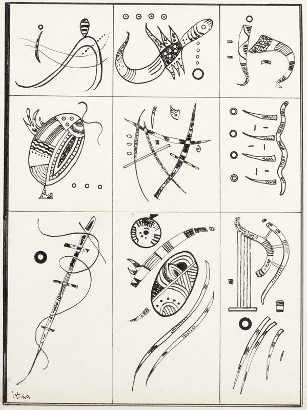 Wassily Kandinsky - Ohne Titel