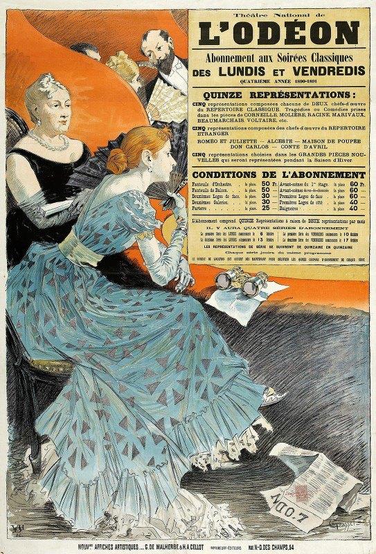 Eugène Grasset - Théâtre National De  L'odeon
